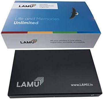 LAMU Portable Photo Organizer 2 TB Charcoal Black for Windows product image