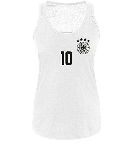 Luckja EM 2016 Deutschland Fanshirt Trikot M 06 Damen Tanktop