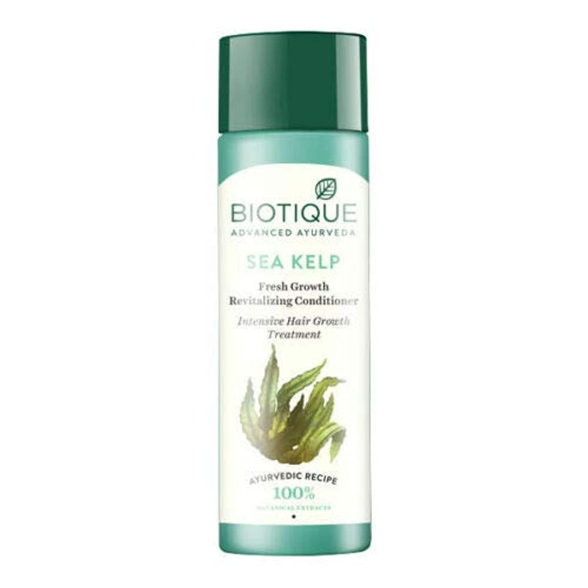マルクス主義謝る服を洗うBiotique Bio Sea Kelp Fresh Growth Revitalizing Conditioner (120 ml) hair Growth Biotiqueバイオシーケルプフレッシュグロースリジュライジングコンディショナー育毛