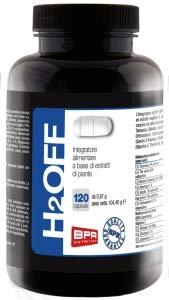 BPR Nutrition - H2OFF - 120caps - integratore a base di estratti di piante con effetto drenante