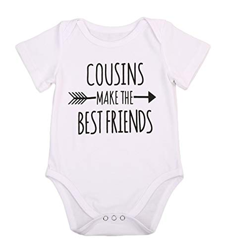 Newborn Baby Boys Girls Bodysuit I'm Going to Be A Big Cousin/Brother...