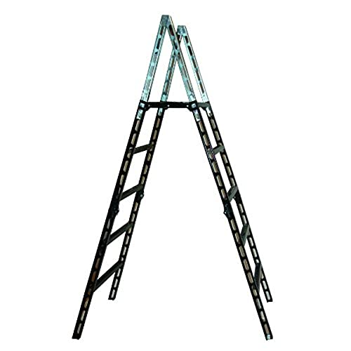 MoJack 24001 Lightweight, Transport Folding Ladder, Makes Crossing Fences Safe and Easy Rugged Steel-Tube Construction,...
