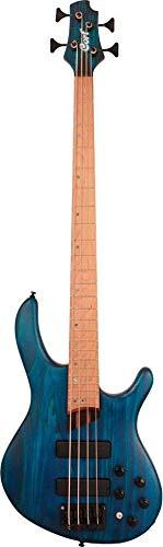 Cort Artisan B4 Plus As Rm Open Pore Aqua Blue - Bajo eléctrico
