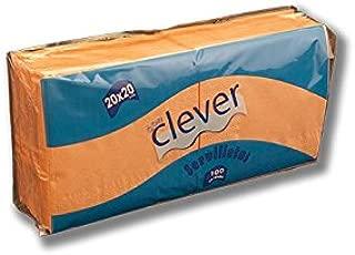 DON CLEVER SERVILLETA 20X20 Salmon/Caja ECONOMICA 32 Paquetes / 2 ...