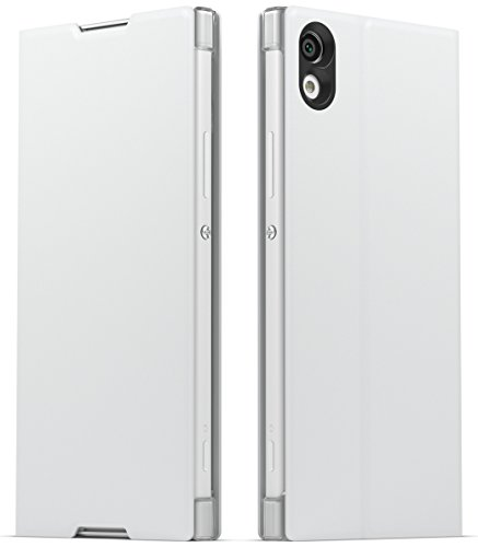 Sony Mobile SCSG30 Hülle Cover mit Standfuß für Xperia XA1 - Weiß