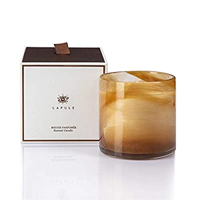 Lapule Scented Candle | Long Lasting Aromatherapy Candles with Natural Fragrance | Soy Wax | For Stress Relief, Relaxation, Anxiety, Homesick | Decorative Glass Vessel | Home and Kitchen Décor