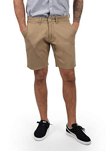 Blend Pierre Herren Chino Shorts Bermuda Kurze Hose mit Stretchanteil, Größe:XXL, Farbe:Beige Brown (71509)