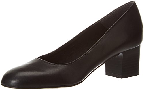 Tamaris Damen 22305 Pumps, Schwarz (Blk Uni Leath.), 40 EU