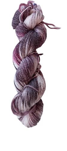 Lang Yarns - Ovillo de lana merino (100 g/400 m, 44% lana virgen, 22,5% algodón, 22,5% poliamida,...