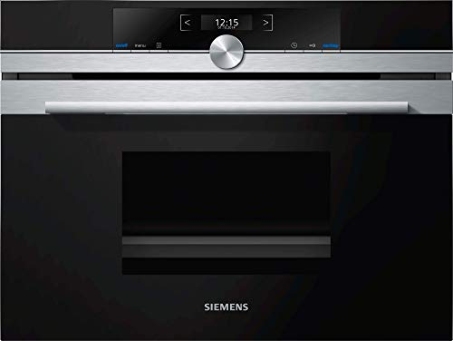 Siemens iQ700 CD634GAS0 four électrique 38 L 1750 W Noir, Acier inoxydable