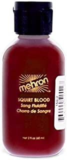 Mehron Makeup Squirt Blood (Bright Arterial), 2 Ounce