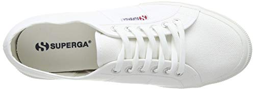 Superga Superga 2750 Cotu Classic Mono, Unisex-Erwachsene Sneaker, Weiß (White 901), 41 EU (7 UK)