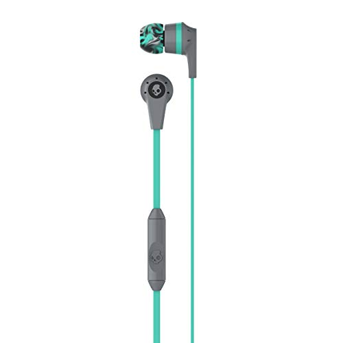 Skullcandy Ink'd Wired in-Earphone with Mic (Gray Mint)