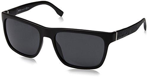 Hugo Boss Herren BOSS 0918/S IR DL5 56 Sonnenbrille, Schwarz (Nero)