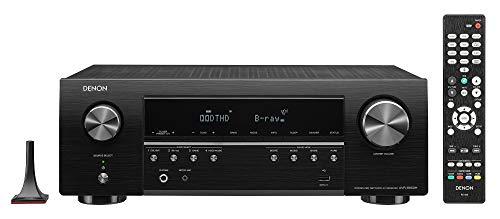 Denon AVR-S650H 5.2 Channel AV-Receiver, HiFi Amplifier, Alexa Compatible,...