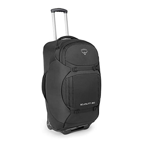 Osprey Sojourn 80 Reisetasche mit Rollen, unisex - Flash Black (O/S)