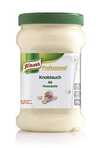 Knorr Professional Würzpaste Knoblauch (natürlicher Geschmack, immer einsatzbereit) 1er Pack (1 x 750g)