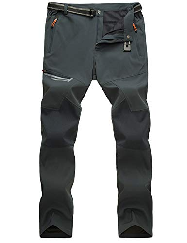 MAGCOMSEN Waterproof Pants for Men Hiking Pants Work Pants Summer Pants Slim Fit Climbing Pants Travel Pants Quick Dry Pants Men