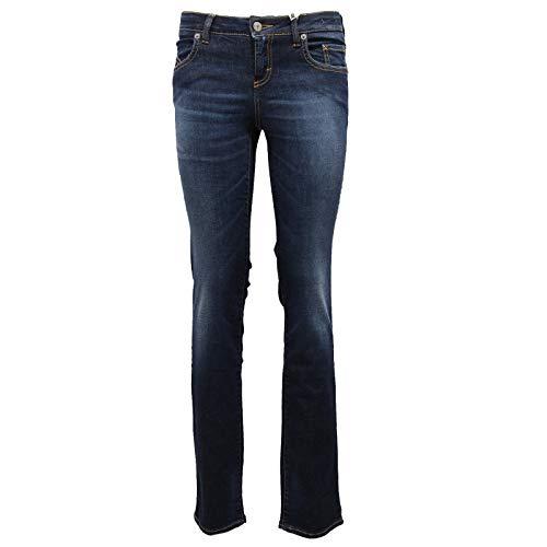 SIVIGLIA 1918Z Jeans Donna 599 Skinny Fit Vintage Blue Pants Woman [28]