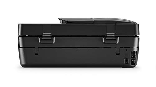 HP Officejet 5230 – Impresora multifunción inalámbrica (tinta, Wi-Fi, copiar, escanear, impresión a doble cara, 1200 x 1200 ppp, 10 ppm), color negro