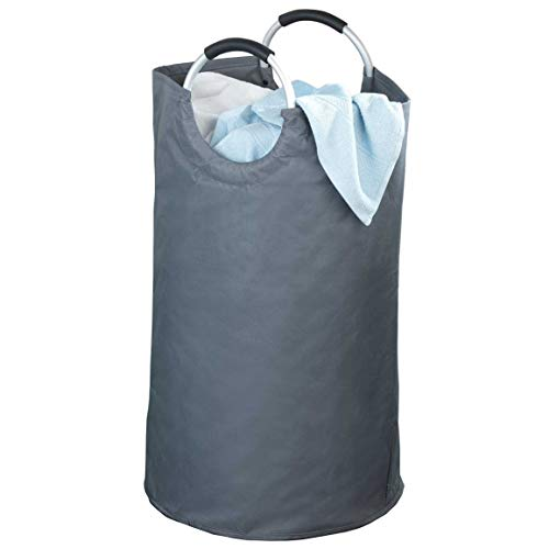 WENKO Collecteur de linge/sac multifonctionnel - anthracite - Anthracite