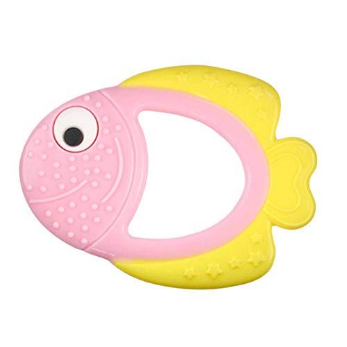 chora Clownfisch-Form-Baby-Beißring-Baby-Beißring-Baby-Zahnpflege-Stärkungszahntraining current