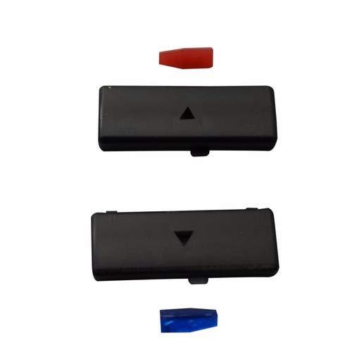 EDP88-12 2 stuks verwarming airconditioning schakelaar knop cover voor B.M.W 5 serie