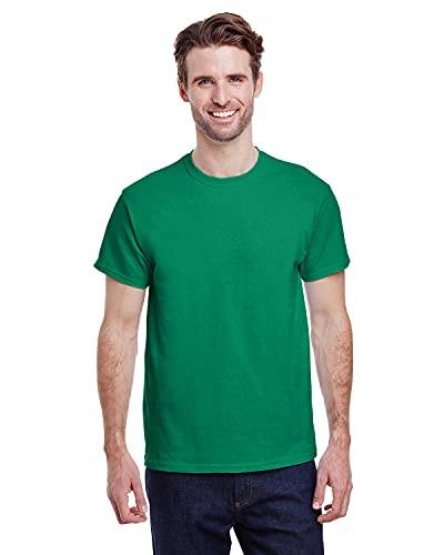 Gildan Men's G2000 Ultra Cotton Adult T-shirt, Kelly Green, Small