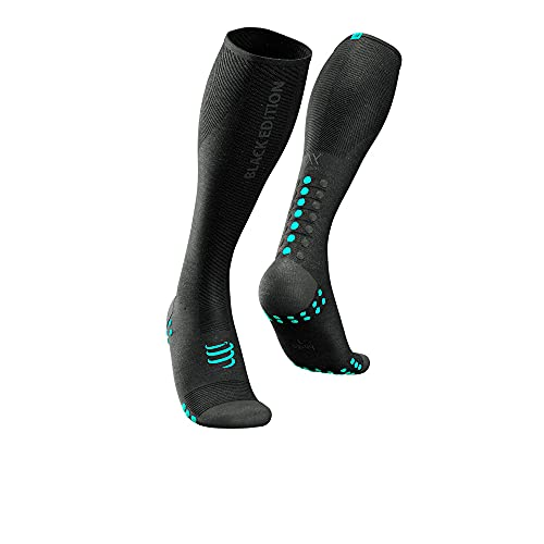 Compressport Full Calcetines Oxygen - Negra Edition 2021 - AW21 - S