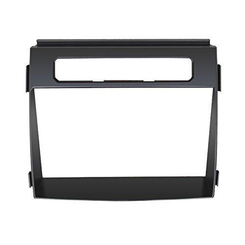Feeldo 2DIN Car CD/DVD radio Fascia plate Panel Cadre Panneau Tableau de bord d'installation Trim Kit de montage
