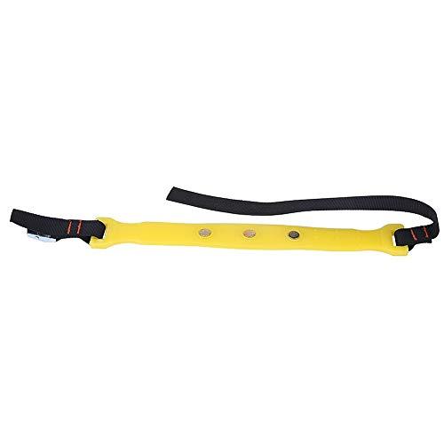 Cinturón para llantas, resistente al desgaste Espesor TPU puro Cadena de llanta antideslizante de abrasión fuerte para todos los modelos de automóvil con un ancho de llanta entre 185 mm y