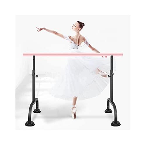 Barra de ballet, barra de ballet, barra de ballet de altura ajustable, se utiliza en escuelas, hogares y estudios de baile.