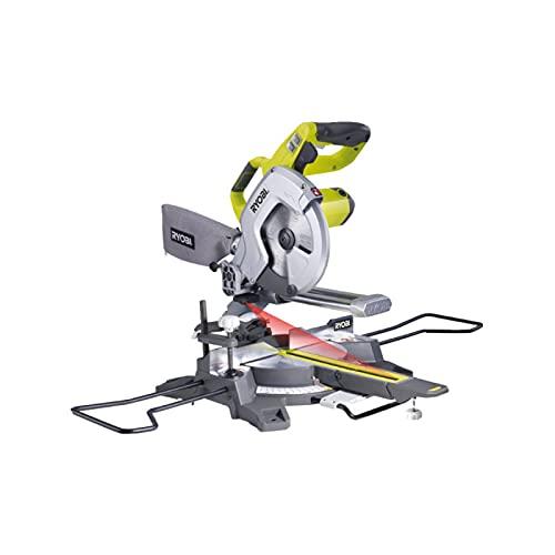 Scie à coupe d'onglets radiale électrique RYOBI - 1500W - 216mm - EMS216L