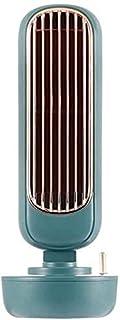 ZUIZUI Bärbar luftkonditioneringsfläkt personlig luftkylare avdunstande luftkylare tyst luftfuktare dimma kylfläkt, 3 hast...