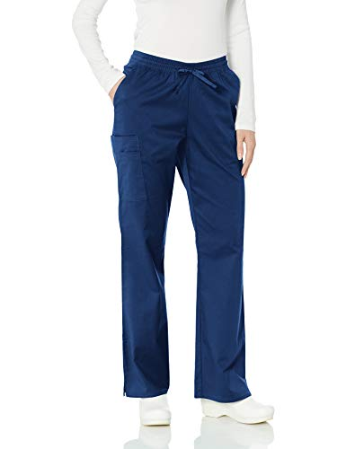 Amazon Essentials - Pantalones quirúrgicos,WAE90009SP18, Para mujer , Marino, S