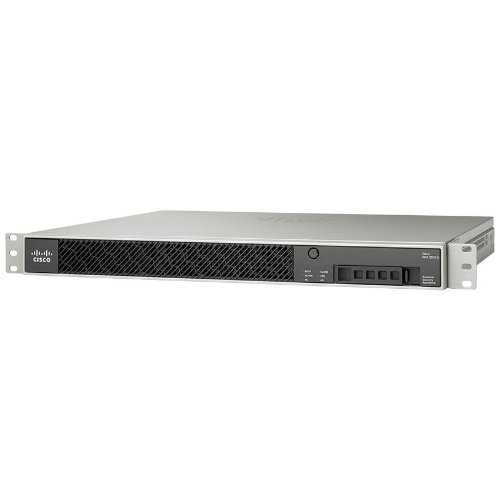 Cisco ASA 5512-X IPS Edi. (IPS, 250 IPsec VPN, 2 SSL VPN, firewall, 6 koperen GE, 1 koper GE management, 1 AC-stroomsupply, DES license)