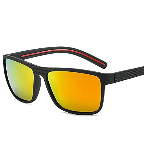 ZEMENG Gafas De Sol De Marco Completo, Gafas De Sol Polarizadas De Estilo Deportivo, Gafas De Sol Flexibles Y Cómodas para Pescar,F