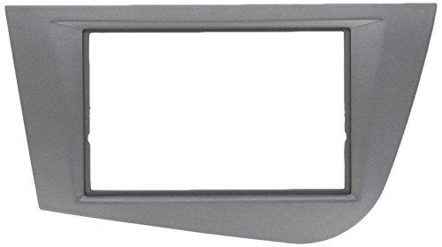 Autokit 44STL05A - Carátula Doble DIN para Seat Leon 2005, Antracita