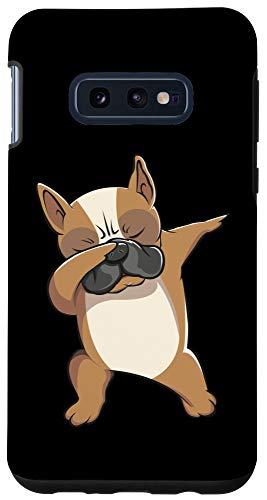 Galaxy S10e Dabbing French Bulldog Frenchie Dog Mama Lover Shirt Case