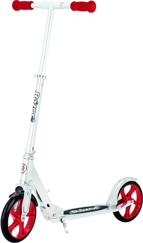 Razor A5 LUX Kick Scooter - Red - FFP , 38.6 Inch