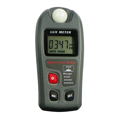 Leaton Digital Luxmeter/Digital Illuminance Light Meter lux meter with LCD