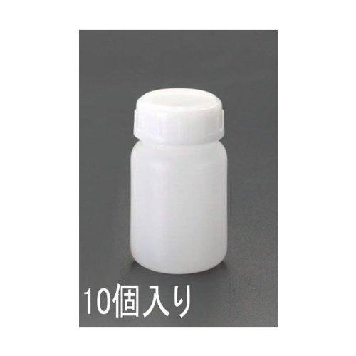 直径51x80mm /100ml広口ポリ容器 (10個)