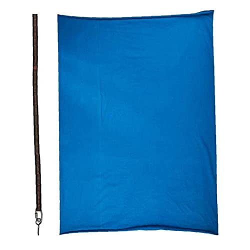 EElabper Swing Elástico De Los Niños, Nylon Ajustable Hamg Mock Terapia Swing Swing Swing con Correa De Extensión Royal-Blue