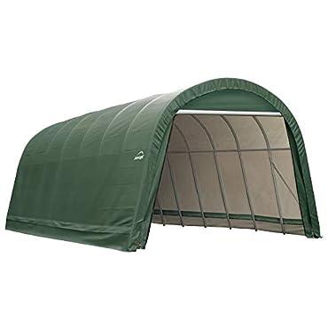 ShelterLogic 95361 Garage 15 x 24 x 12  Round Standard Green