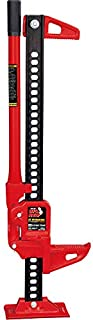 "BIG RED TRA8335B Torin 33"" Ratcheting Off Road/Utility Farm Jack, 3 Ton (6,000 lb) Capacity"