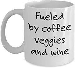 LECE Grappig van het beste geschenk vegetarische mok, groenten en wijn, veganistische wijn liefhebber, geschenk voor veganistische, geschenken voor vegetarische, geschenken voor wijnliefhebber, grappig veganistisch cadeau