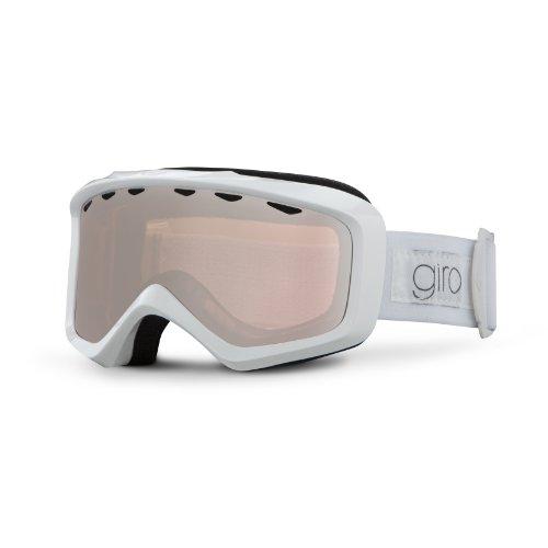Giro Masque de Ski Charm pour Femme Blanc Perle/Rose Ambre Taille Unique
