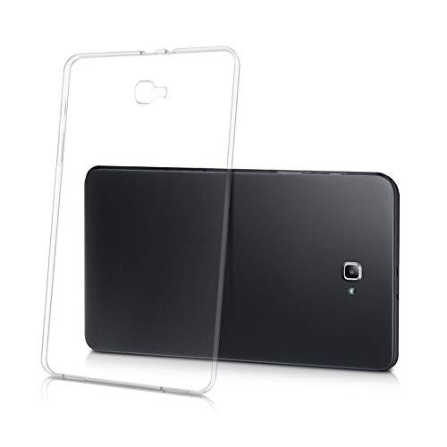 RZL PAD y TAB Fundas Para Samsung Galaxy Tab A A6 10.1 pulgadas de 2016, caja de protección protectora de TPU suave transparente Funda a prueba de golpes ligeras para Samsung Galaxy Tab A A6 10.1 Inch