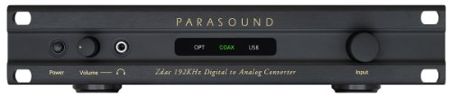 Parasound - Zdac - Digital to Analog Converter - Black