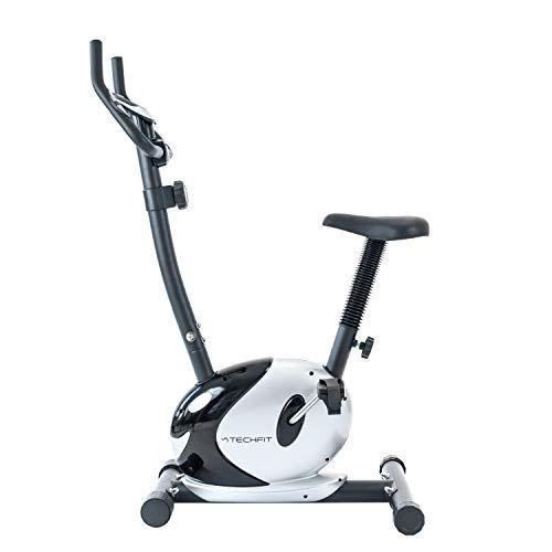 TechFit B36A Bicicleta Estática, con Sistema de Frenado Magnético, 8 Niveles de Resistencia, Volante de Inercia de 4 KG, Sillín Ajustable, Pantalla de 6 Funciones
